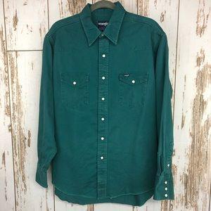 Wrangler Shirt, Regular Fit Size 17-35 X-long tail